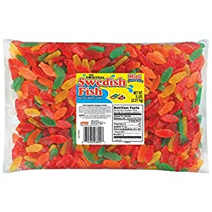 Swedish fish soft chewy candy assorted for Swedish fish amazon