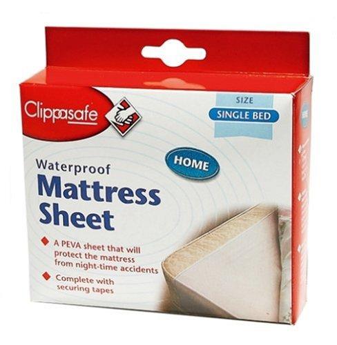 Big Deals Clippasafe Waterproof Mattress Sheet Single Bed Discount Annie Discount