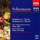 Schumann: Symphonies Nos. 1 'Spring' & 3 'Rhenish'