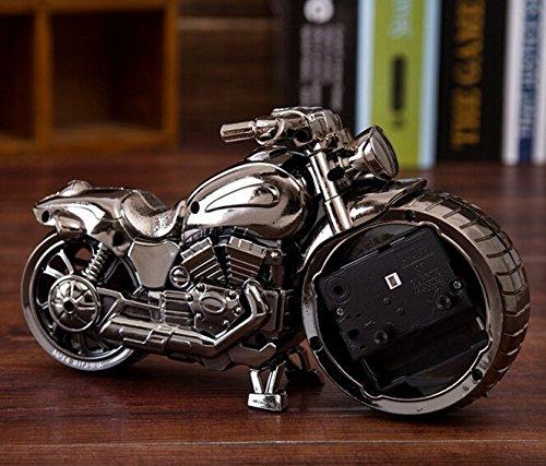 Superideal Despertator de estilo Vintage Retro Motocicleta Alarma ...