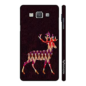 Enthopia Designer Hardshell Case Wintery Deer Back Cover for Samsung Galaxy Grand Max
