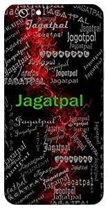 Jagatpal (Caretaker Of The World ( God )) Name & Sign Printed All over customize & Personalized!! Protective back cover for your Smart Phone : Moto G2 ( 2nd Gen )