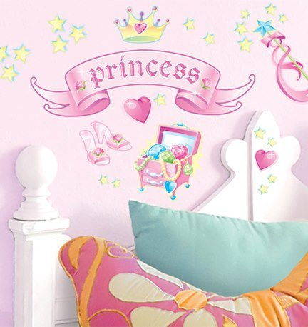 Main Street Wall Creations Jumbo Stickers - Princess - 1