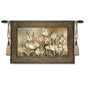 Tapestry Wall Hanging - Tulips in the Window [Kitchen]