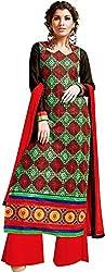 Sinina Women's Cotton Unstitched Dress Material (SKMannat634_Multi_Free Size)