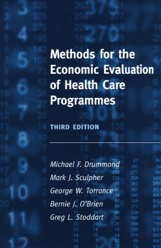 Methods for the Economic Evaluation of Health Care...