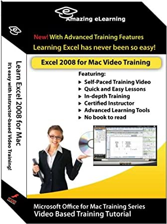 Excel 2008 for Mac Video Training - Basic and Advanced