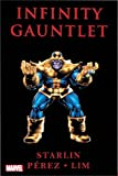 img - for Infinity Gauntlet 2011 George Perez Thanos Cover Edition book / textbook / text book