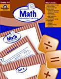 Math Cooperative Learning Cards (Grades 4-6) (1557999899) by Tom Camilli