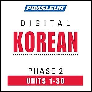 Korean Phase 2, Units 1-30 Speech