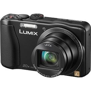 Panasonic Lumix DMC-ZS25 16.1 MP Compact Digital Camera with 40x Intelligent Zoom (Black) - DMC-ZS25K