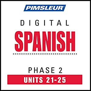 Spanish Phase 2, Unit 21-25 Audiobook