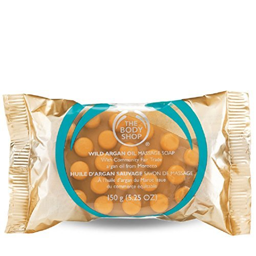 The Body Shop Wild Argan Oil Massage Soap