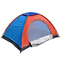 Offering the easiest way to setup tent. Unlike other tents this is not only light weighted but can be set-up in less than one minute! Just carry your tent along! It is constructed with a durable polyester fabric wall and roof with silver polyurethane...