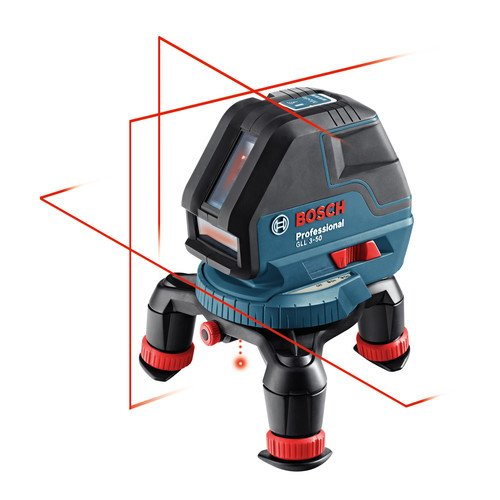 Factory-Reconditioned Bosch GLL3-50-RT Three Line Laser with Layout Beam (Bosch Laser Plumb Bob compare prices)