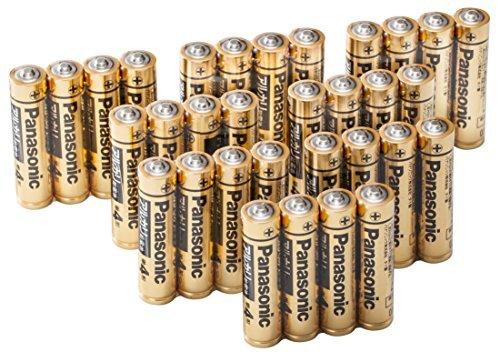 パナソニック 単4形アルカリ乾電池 32本パック 【フラストレーションフリーパッケージ(FFP)モデル】 LR03RJA/32S
