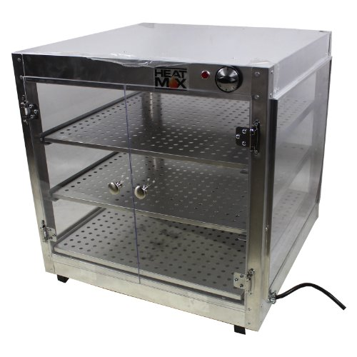 Commercial Food Pizza Pastry Warmer Countertop 24x24x24