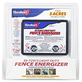 Fi-Shock SS-725CS Powered Light-Duty Electric Fence Energizer 5-Acre Range