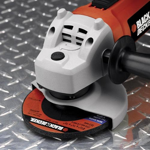 4 12 Small Angle Grinder  7750  BLACKDECKER