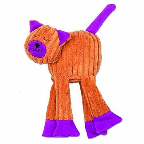 pet-rageous-floprageous-celia-the-cat-toy-6-inch-length-orange-purple-by-petrageous