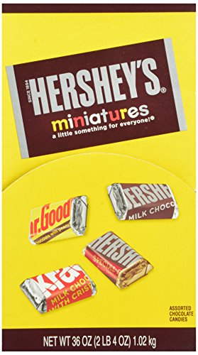 Hershey's Miniatures Assortment,  120 Count, Changemaker (Chocolate Miniatures compare prices)