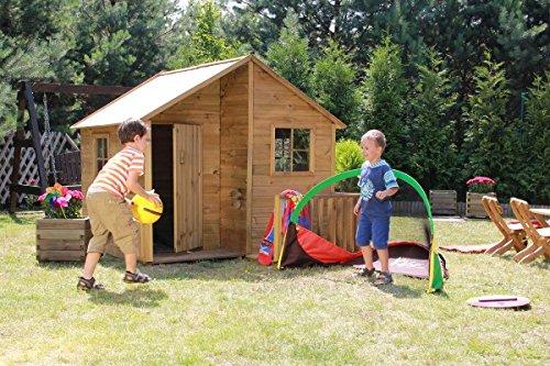"""Baumotte Spielhaus Holz – Kinderspielhaus """"Aladin"""" jetzt bestellen"""