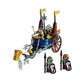 レゴのお城シリーズから王様の戦闘馬車 7078