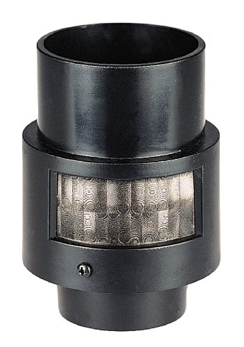Heath/Zenith SL-4100-BK-A 150-Degree Motion-Sensing Post-Light Adapter, Black