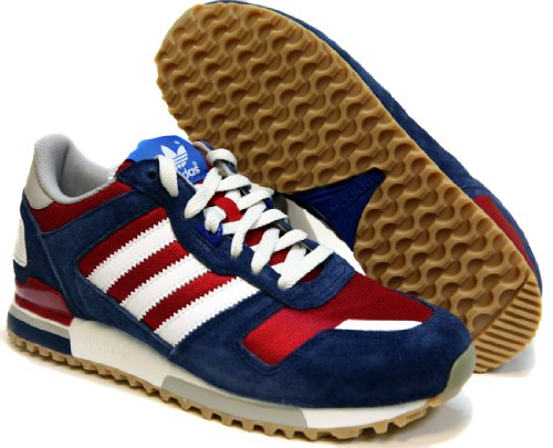 71170eaf3 adidas ZX 700 Men Shoes University Red Running White Blue G96517 SIZE 11 5