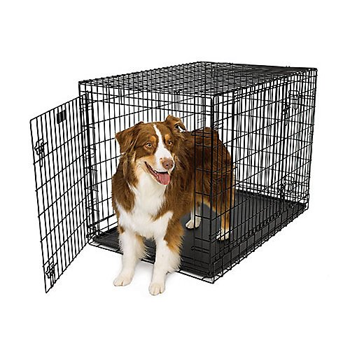 "Midwest Ultima Pro 42"" Triple Door Dog Crate 742Up front-196398"