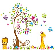 Giant Wall Decals for Kids Rooms, Nur…
