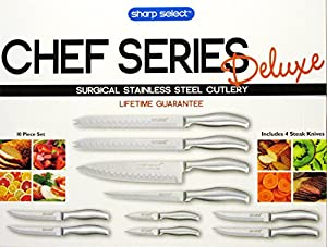 Sharp Select Surgical Stainless Steel Cutlery