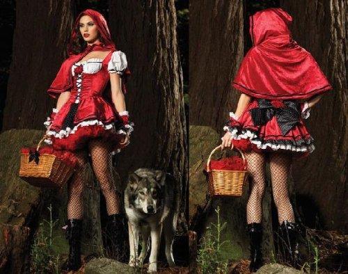 Faschingskostume 2012 Kostum Sexy Rotkappchen Neu Karneval Fasching
