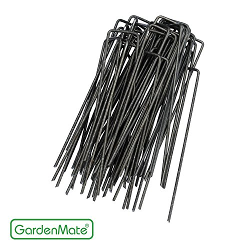 gardenmate-100-pack-6-11-gauge-heavy-duty-u-shaped-garden-securing-pegs-sod-staples-ideal-for-securi