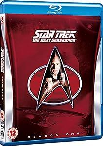 Star Trek: The Next Generation - Season 1 [Blu-ray] [Region Free]