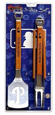 MLB Sportula Products 3-Piece BBQ Set