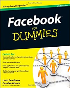 "Cover of ""Facebook For Dummies"""