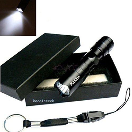 3W Mini Cree Led Waterproof Flashlight Torch Handy Light Lamp Hunting Keychain