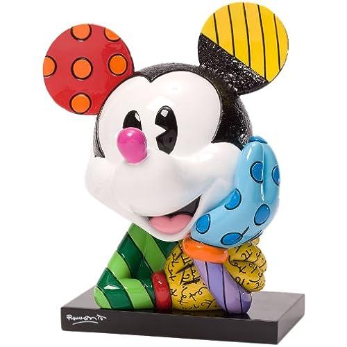Enesco Disney by Britto Mickey Bust Figurine, 6.25-Inch /러 메로부릿토 /디즈니/피규어/미키마우스/병행수입품-4033887