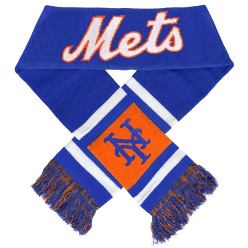 MLB New York Mets 2012 Team Stripe Scarf at Amazon.com
