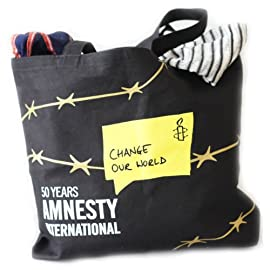 Amnesty International Change Our World Tote Bag