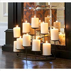 Preston Candelabra (Black) (11