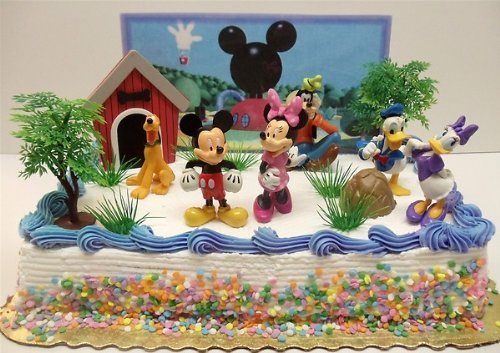 Disney Mickey Mouse Birthday Cake Toppers We Buy Cheaper