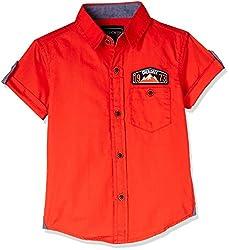 Cherokee Boys' Shirt (267982322_Red_7 - 8 years)