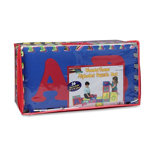 Picture of Chenille Kraft Alphabet Puzzle Mat 26 Piece Assorted Colors - CKC4381 (B004IKMR5O) (Puzzle Play Mats)