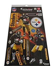 Pittsburgh Steelers Fathead - Set of 3 Players