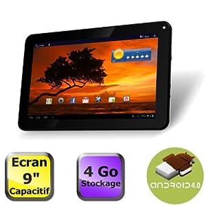Tablette PC Tactile capacitif Artview 9 pouces, Android 4, 4Go, Wi fi + 1 Stylet Cadeau