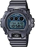 G-Shock Metallic DW6900MF-2 Watch - Resin Grey / Blue