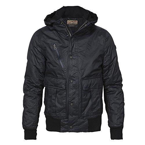 Petrol Industries Uomo giacche e giubbotti/giacca Demi-saison Lachlan, nero, XS