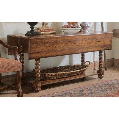 Cheap Decorator Jacobean Twist Console Table (716-85-122)